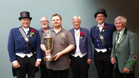 Überreichung des Walter-May-Pokal im Jahr 2017